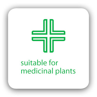 suitable  for medicinal plants